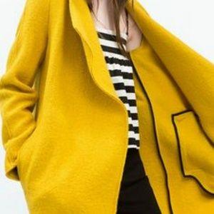 ZARA Wrap Oversized Coat